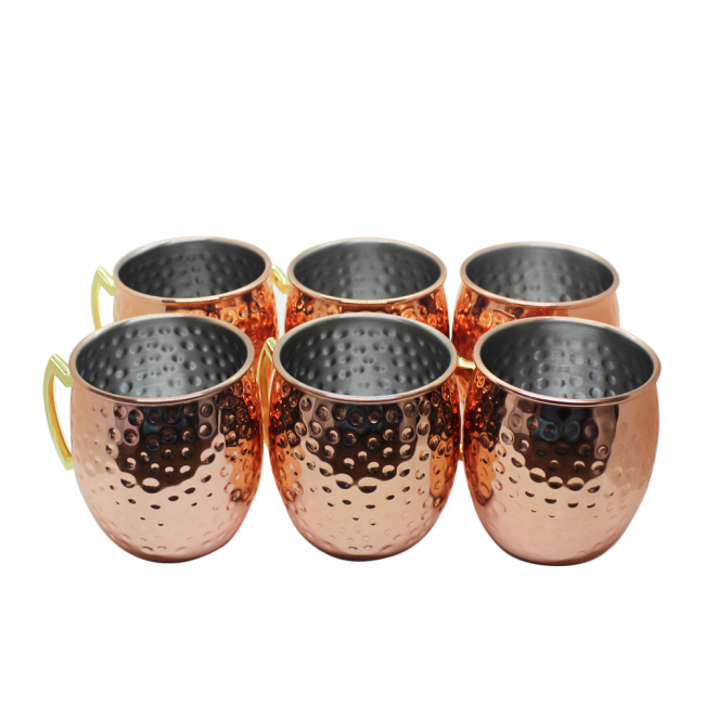 Copper Mug Set x 06