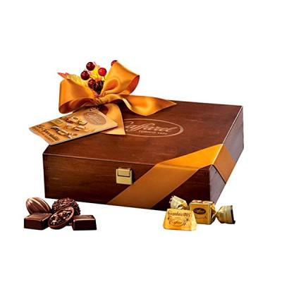 Chocolates Caffarel Le Specialita.  Caja de madera 250 gr.