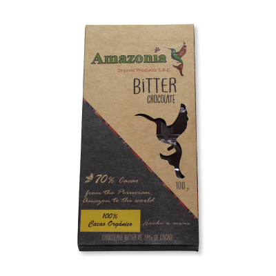 Chocolate Bitter Amazonía.