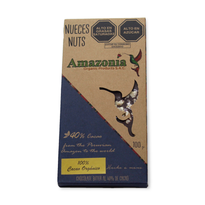 Chocolate Nueces Amazonía