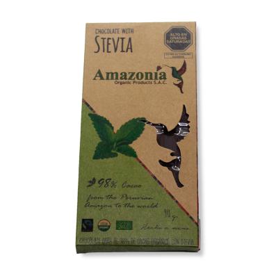 Chocolate con Stevia Amazonía.
