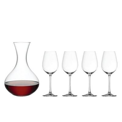 Decantador + 4 Copas de Vino Tinto cristal Spiegelau