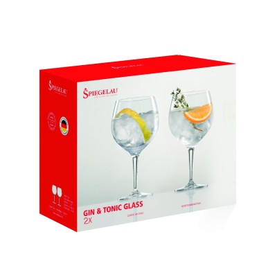 set de copas de cristal para Gin