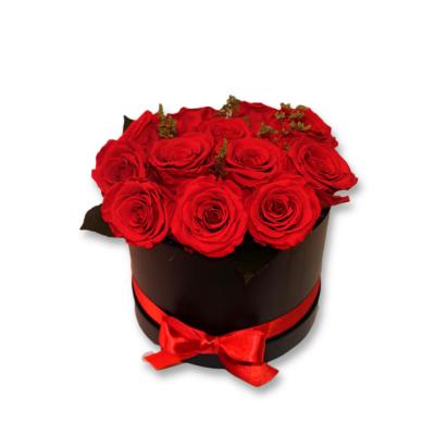 rosas en sombrerera