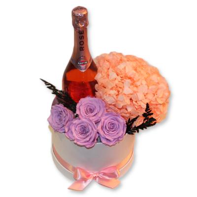 Pack de rosas con Martini